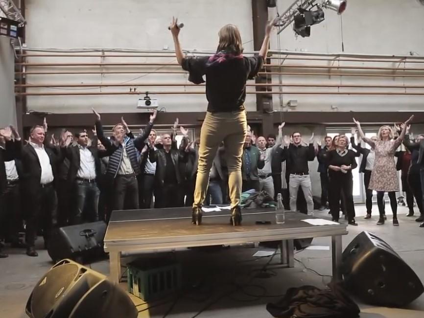 Susanne Ørum styrer teambuildingen